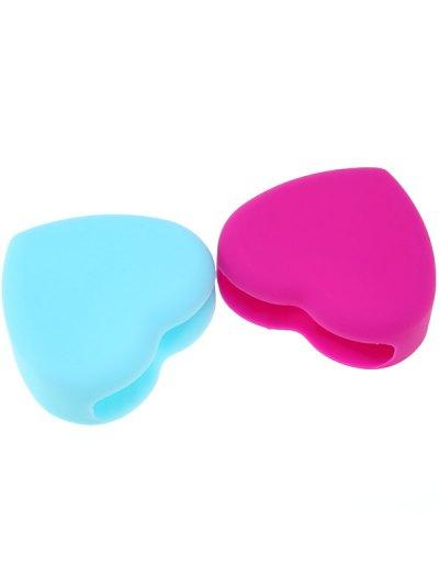 2 Pcs Heart Shape Brush Eggs - COLORMIX  Mobile