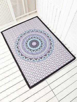 Patterned Rectangle Beach Throw