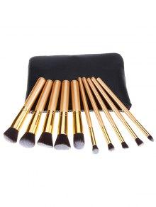 10 Pcs Makeup Brushes Kit