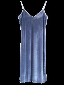 Cami Velvet Midi Dress