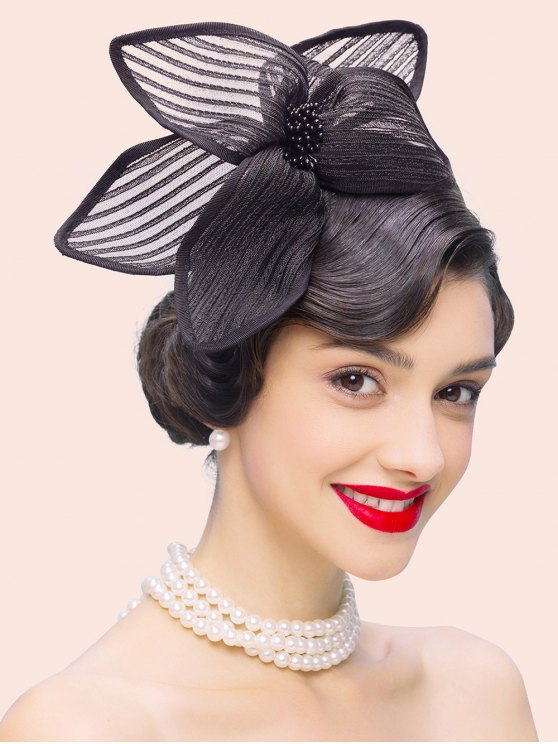Flower Cocktail Hairband Hat -   Mobile