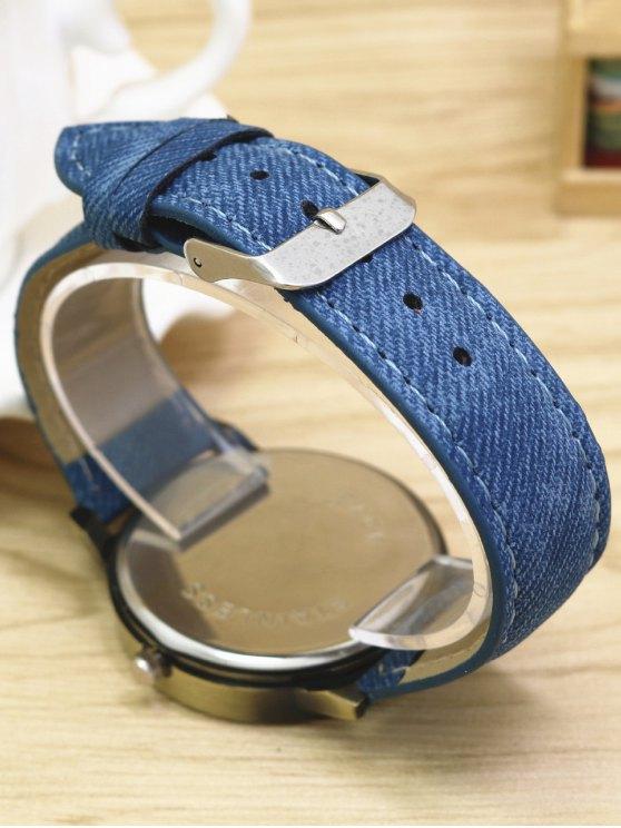 Cartoon Airplane Quartz Watch - BLUE  Mobile