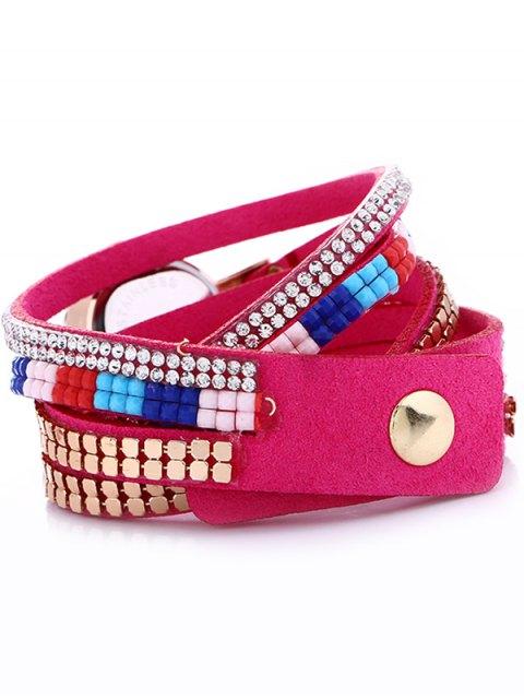 outfit Layered Studded Bracelet Watch - TUTTI FRUTTI  Mobile