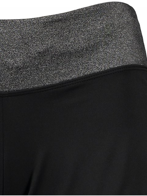 online Elastic Piped Running Shorts - LAKE BLUE L Mobile