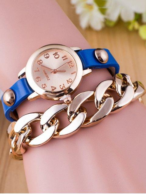 buy Chain Quartz Bracelet Watch -   Mobile