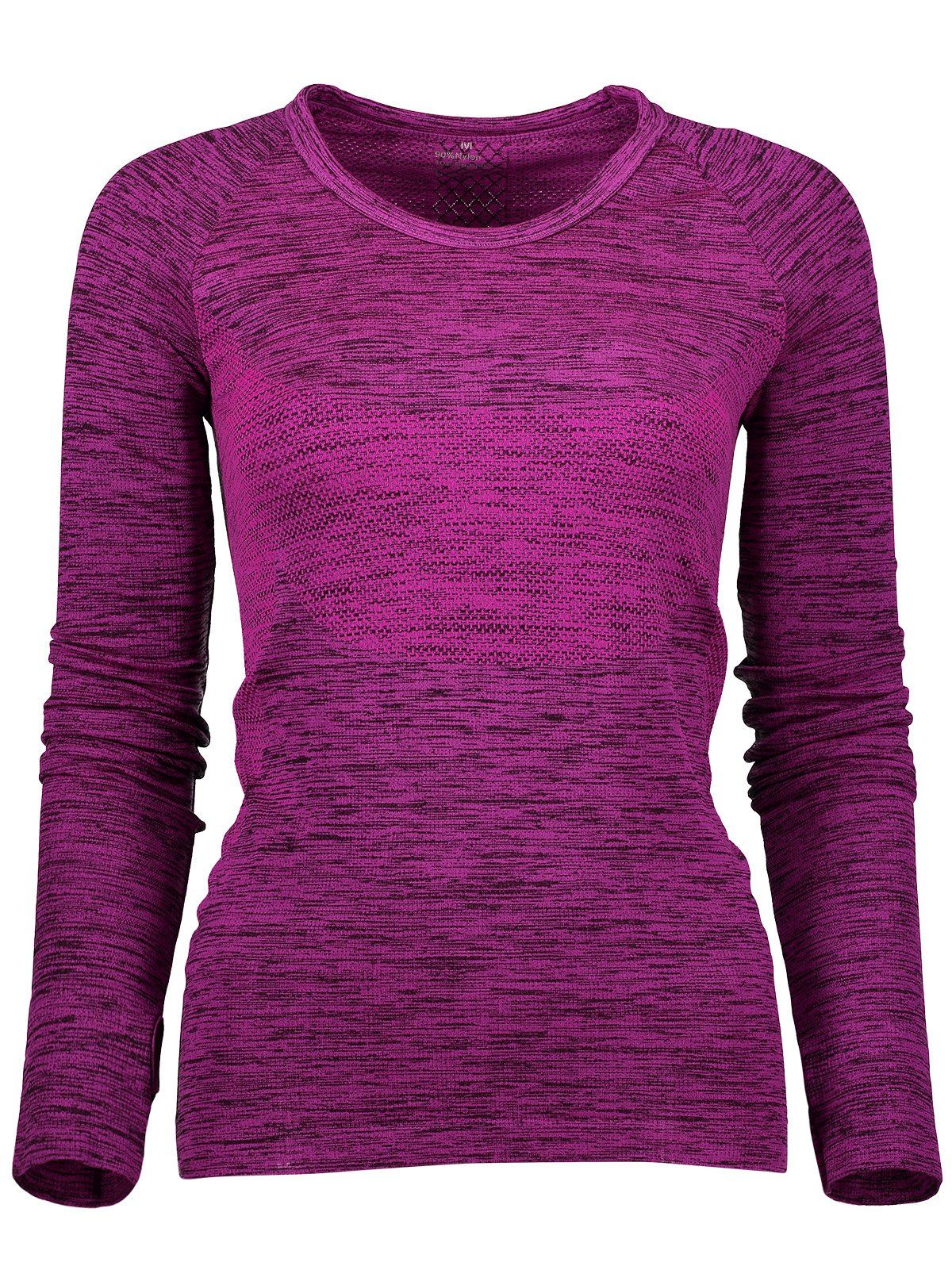 Long Sleeve Space Dye Running Top 206957502