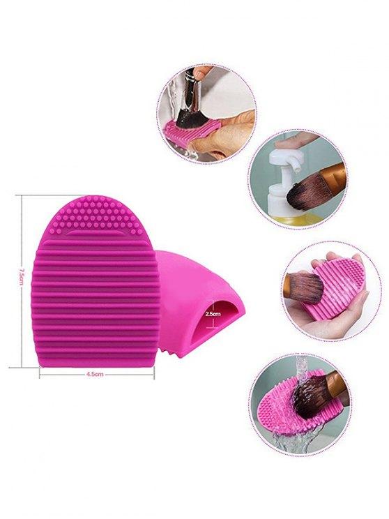 Makeup Brushes Set + Brush Egg + Makeup Sponge -   Mobile