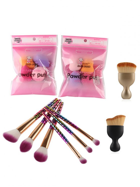 Ombre Makeup Brushes and Beauty Blenders - COLORMIX  Mobile