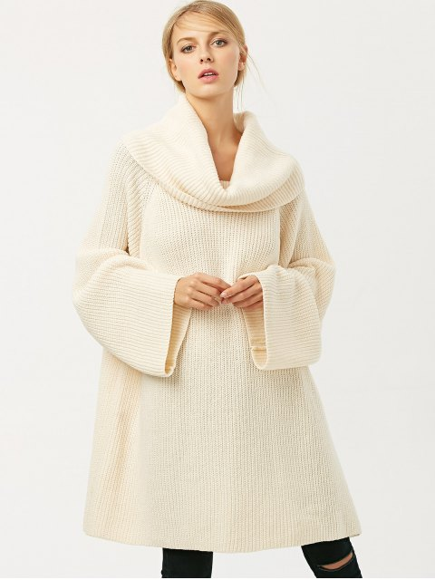 online Oversized Chunky Sweater - PALOMINO L Mobile