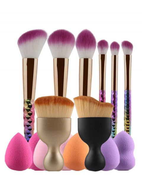 hot Ombre Makeup Brushes and Beauty Blenders - COLORMIX  Mobile