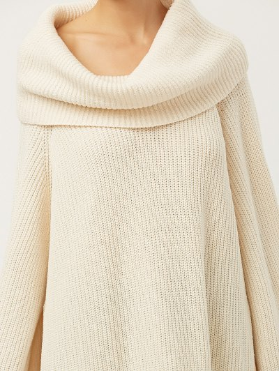 Oversized Chunky Sweater - PALOMINO M Mobile