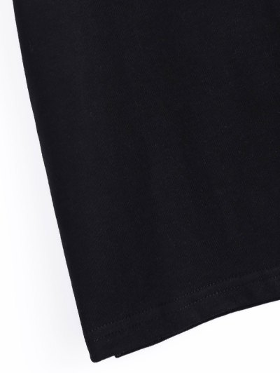 Roll Short Sleeve Graphic Tee - BLACK 3XL Mobile