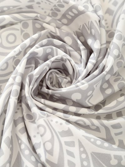 Cape Rectangle Beach Throw - SILVER ONE SIZE Mobile