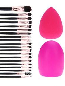 20 pcs eye makeup brushes  beauty blender  brush egg
