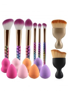 Ombre Makeup Brushes and Beauty Blenders