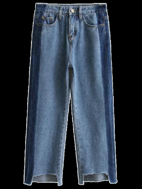 Deshilachados mamá Fit Jeans - Denim Blue S