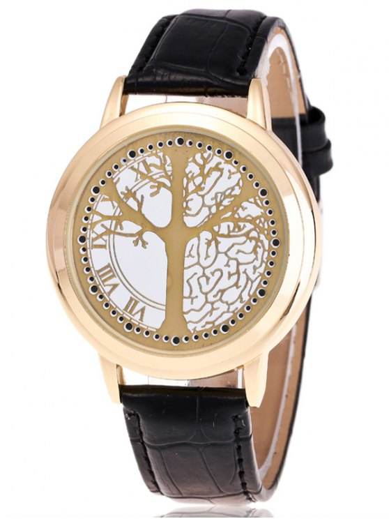 Tree of Life LED Watch - GOLDEN  Mobile