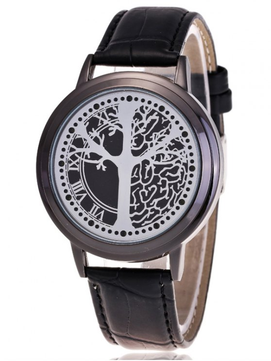 Tree of Life LED Watch - BLACK  Mobile