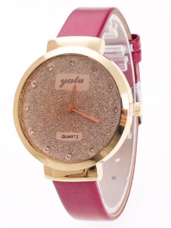 Rhinestone Glitter Quartz Watch - TUTTI FRUTTI  Mobile