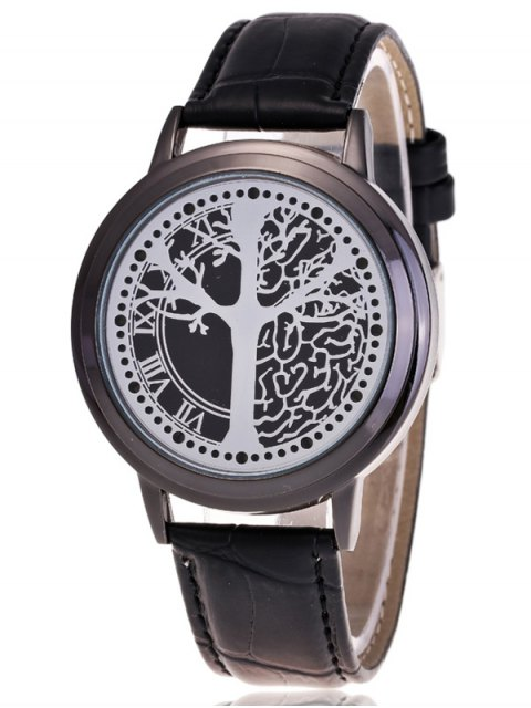 shops Tree of Life LED Watch - BLACK  Mobile