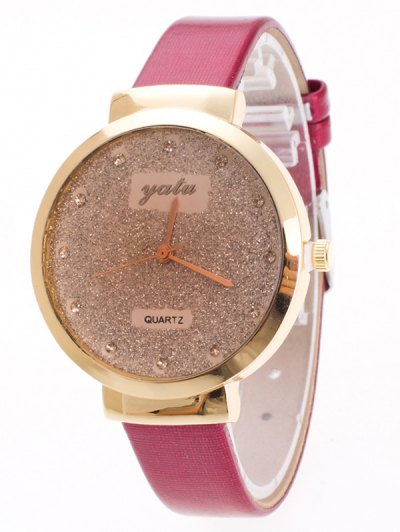 Rhinestone Glitter Quartz Watch - TUTTI FRUTTI  Mobile