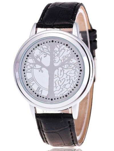 Tree of Life LED Watch - WHITE  Mobile