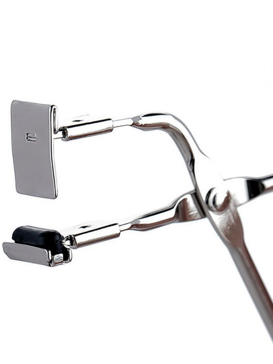 Metal Partial Eyelash Curler - SILVER  Mobile