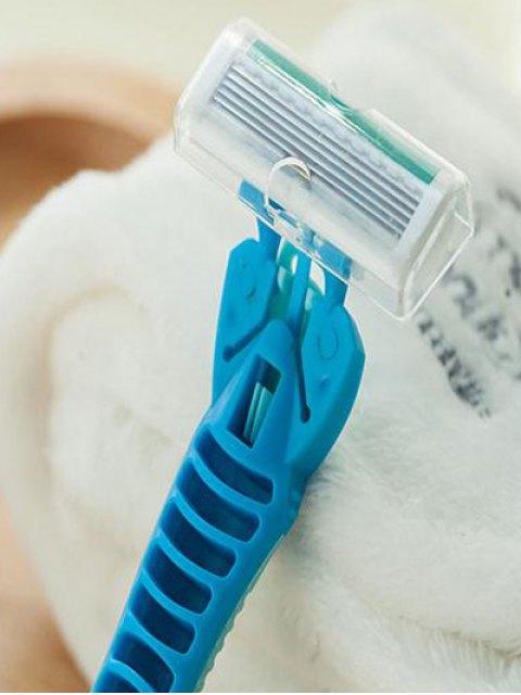 hot 2 Pcs Armpit Hair Razor - BLUE  Mobile