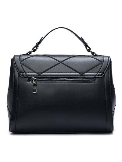 Rhombic Faux Leather Handbag от Zaful.com INT