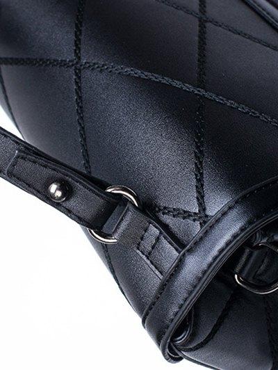 Rhombic Faux Leather Handbag от Zaful.com INT