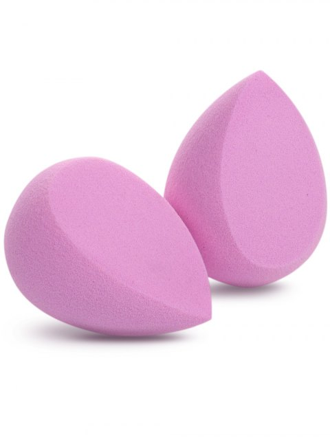 fashion Cut Water Swellable Makeup Sponge - PINK  Mobile