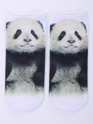 Chaussettes imprimé 3D panda