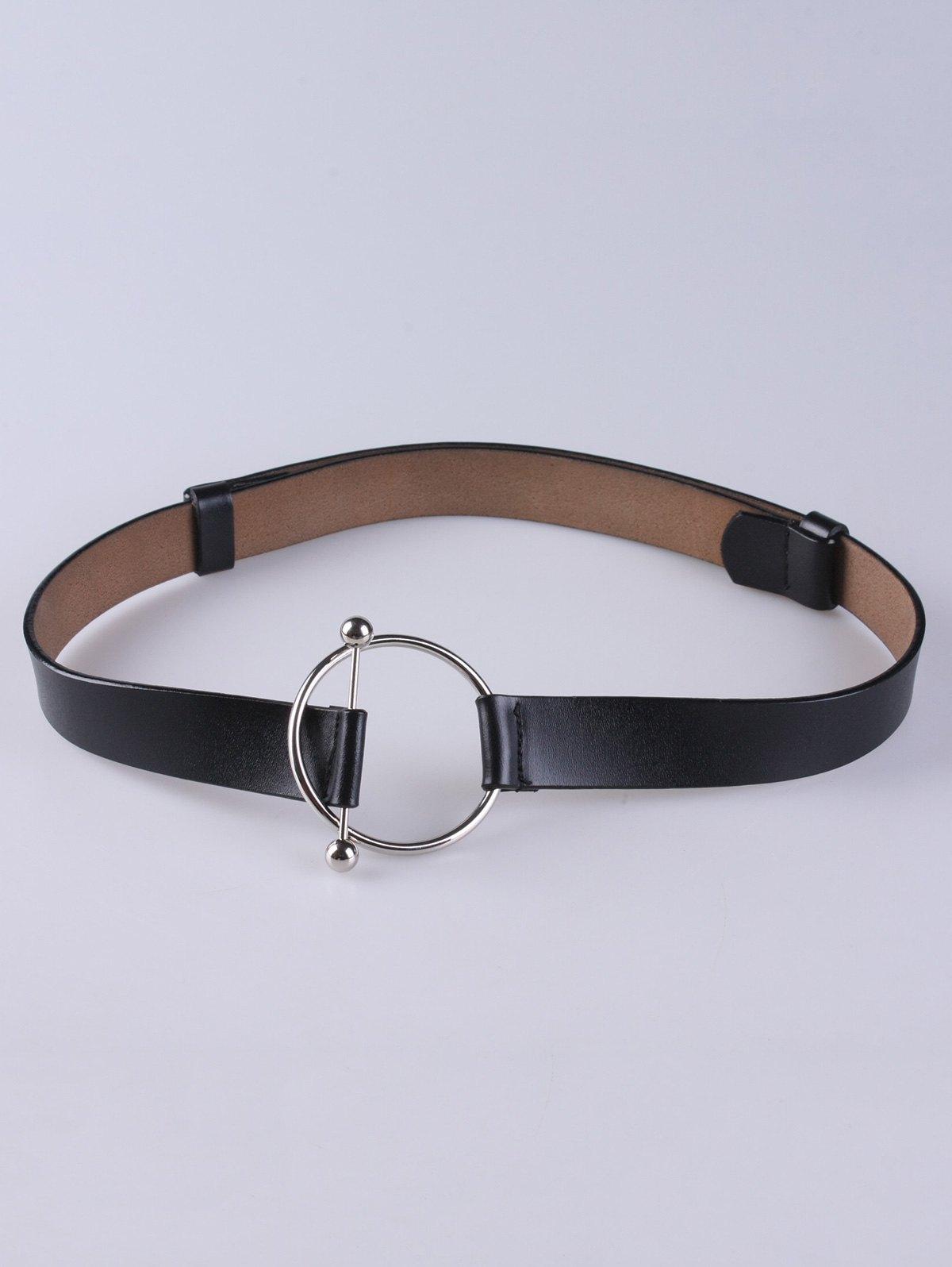 Faux Pearl Elastic Waist Belt
