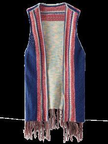 Knitted Tasselled Vest