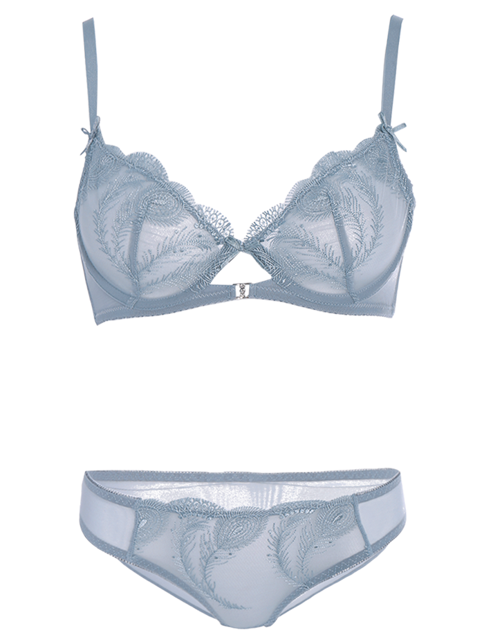 Ultra Thin Bra Set