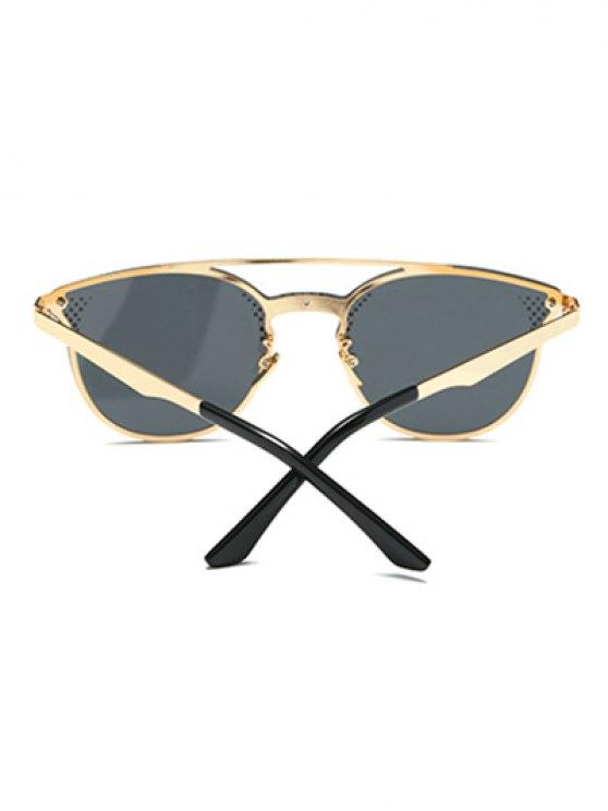 Rhombus Pattern Butterfly Sunglasses - BLACK  Mobile