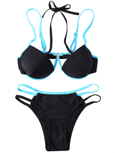 Strappy Molded Cups Bikini от Zaful.com INT