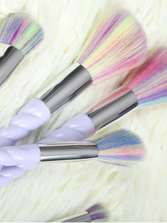 Unicorn Makeup Brushes Set - LIGHT PURPLE  Mobile