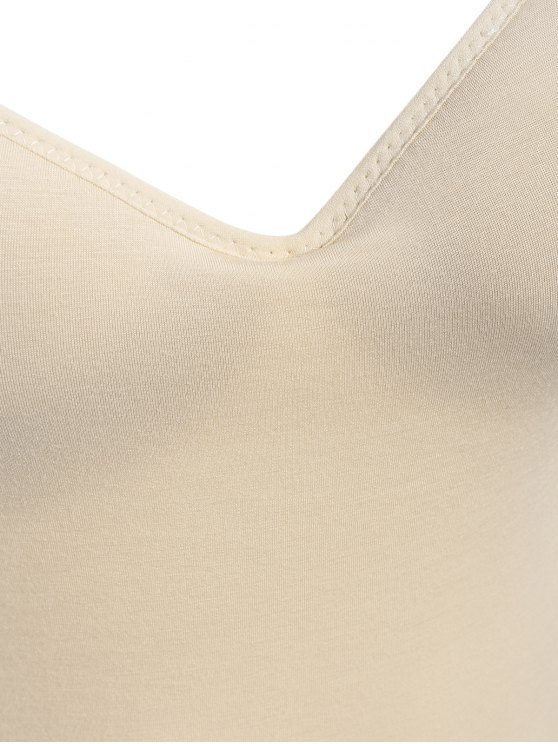 Padded Camisole Bra Tank Top - COMPLEXION M Mobile
