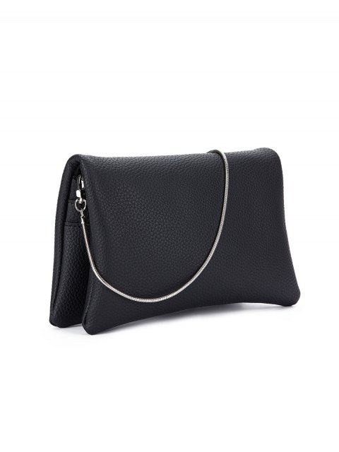 sale Snake Chain Crossbody Bag - BLACK  Mobile