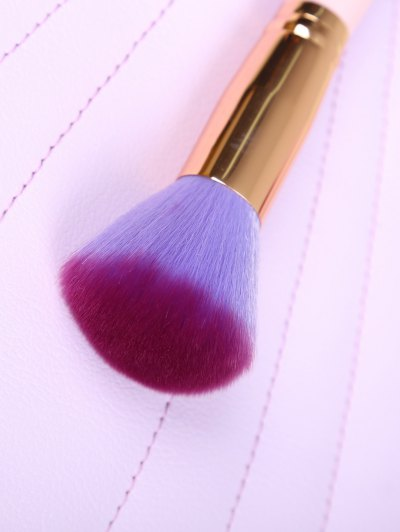 10 Pcs Scallop Makeup Brushes Kit - PINK  Mobile