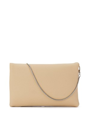 Snake Chain Crossbody Bag - Apricot