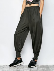 Loose Fit Harem Pants