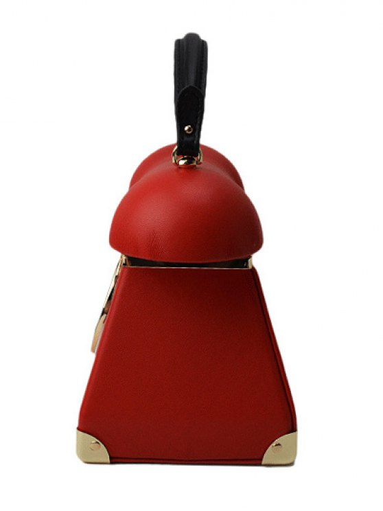 Novelty Telephone Shaped Evening Bag - RED  Mobile