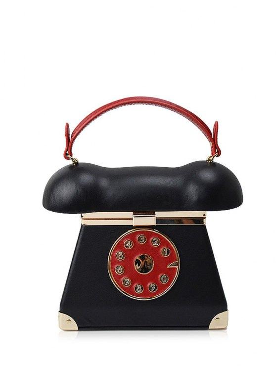 Novelty Telephone Shaped Evening Bag -   Mobile