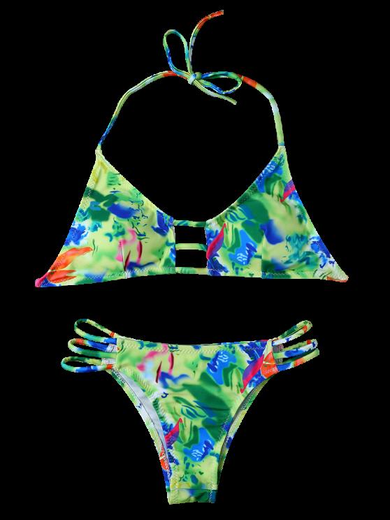 String Cutout Bikini Set - COLORMIX XL Mobile