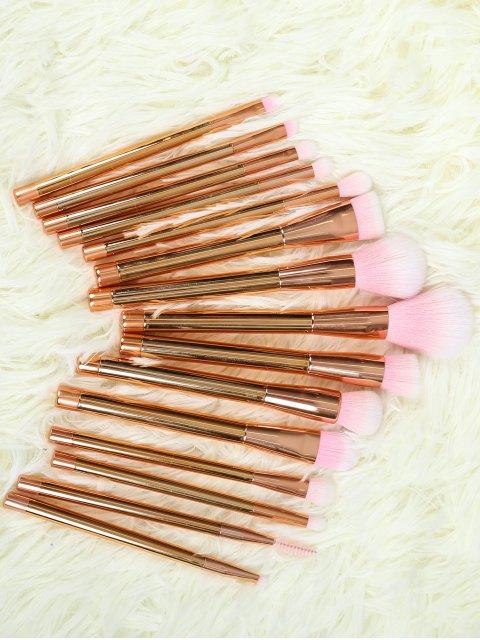 new Plating Makeup Brushes Set - ROSE GOLD  Mobile