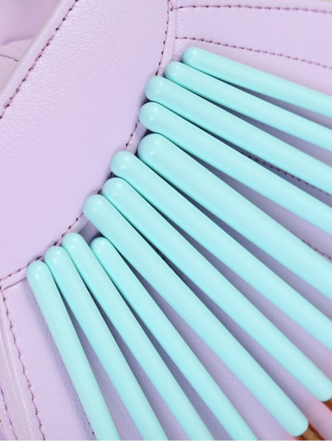outfit Eye Nylon Makeup Brushes Set - BLUE  Mobile