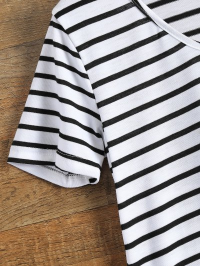 Stripes Tunic T-Shirt - STRIPE S Mobile