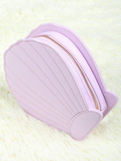 Scallop Brush Bag - LIGHT PURPLE  Mobile